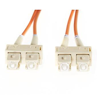 05M Sc Sc Om1 Multimode Fibre Optic Cable Orange