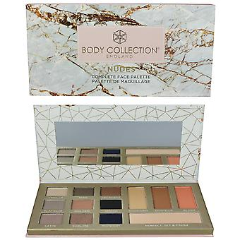 Body Collection Nudes Complete Face Palette