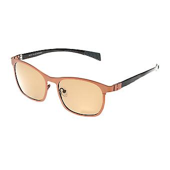 Breed Halley Titanium Polarized Sunglasses - Brown/Brown