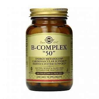 Solgar Formula Vitamin B-Complex 50\ Vegicaps 100\\ (1121)\\\\\