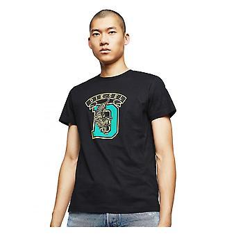 Diesel T Diego B4 Camiseta Negro