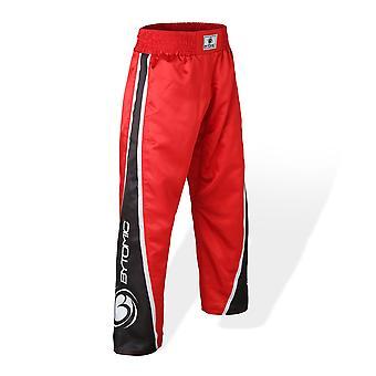 Bytomic V3 dla dorosłych zespół Kickboxing spodnie czerwony/czarny