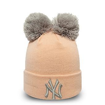 Inverno nuova era donna cappello Bobble Beanie - New York Yankees