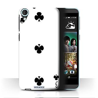STUFF4 Case/Cover for HTC Desire 820s Dual/3 of Clubs/Playing Cards