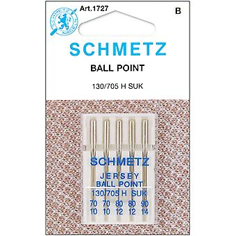Ball Point Jersey aiguilles de Machine 2 70, 2 80, 1 90 5 Pkg 1727