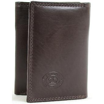 Men's Soft Leather Tri-Fold Wallet