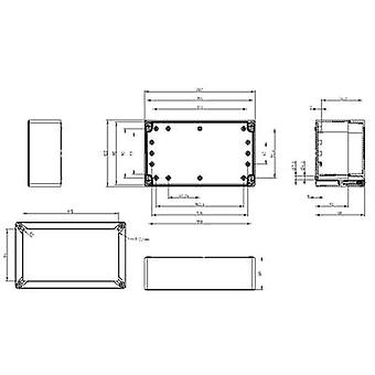 Build-in casing 202 x 122 x 90 Polycarbonate (PC) Light grey (RAL 7035) Spelsberg TG PC 2012-9-to 1 pc(s)
