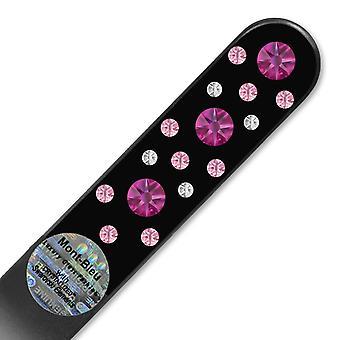 Glas-Nagelfeile mit Swarovski-Kristallen CNB-M1-7