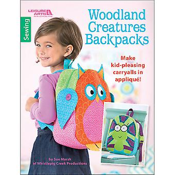 Leisure Arts-Woodland Creatures Backpacks LA-6619