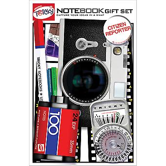Tricky Notebook Set 5pcs-Camera TRNS-2001E