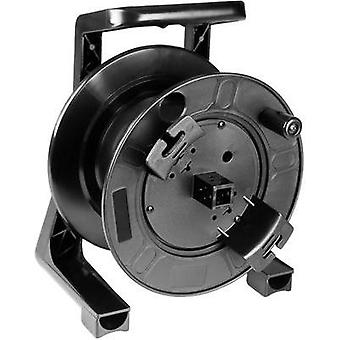 Cable reel Adam Hall Black