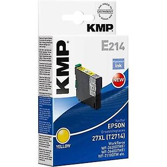 KMP Ink replaced Epson T2714 (27XL) Compatible Yellow 1627,0009