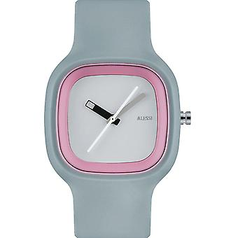 Grey & Pink Kaj Watch by Alessi