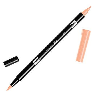 Tombow Dual Brush Marker Open Stock-873 Coral DBP-56601