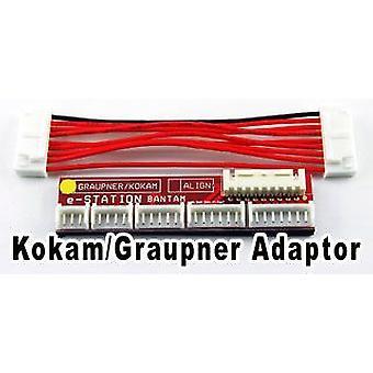 BC-8 connector board, Kokam/Graupner/Robbe