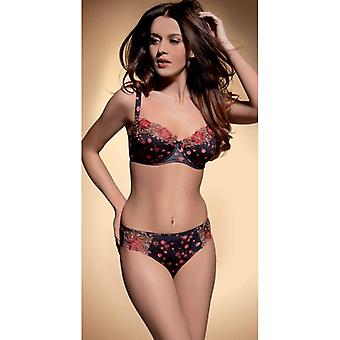 ReginaN Bra Not molded black red
