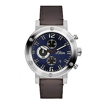 s.Oliver men's watch wristwatch SO-3097-LC