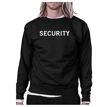 Beveiliging zwart Sweatshirt uitwerkt Pullover Fleece Sweatshirts