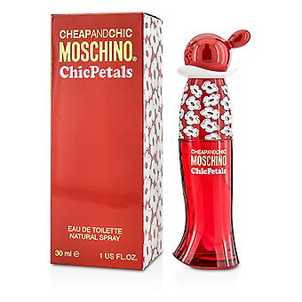 Moschino Cheap & chique chique bloemblaadjes Eau De Toilette Spray 30ml / 1oz