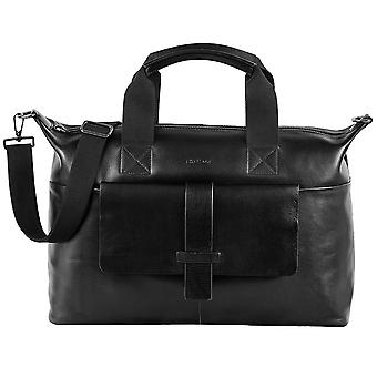 Strellson icon leather travel bag travel bag Weekender 4010002178-900