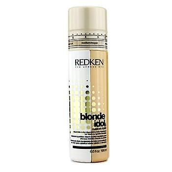 Redken Blonde Idol Custom-Tone Adjustable Color-Depositing Daily Treatment (For Warm or Golden Blondes) - 196ml/6.6oz