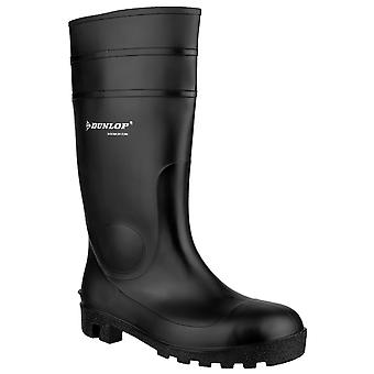 Dunlop FS1600/142PP Womens Wellingtons Boots Self Lined PVC Pull On Fastening