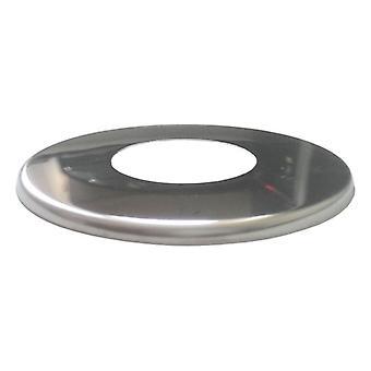 La couverture de bride du tuyau de chrome inox
