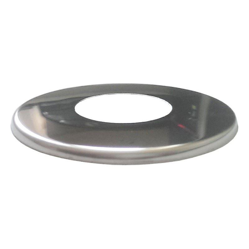 1/2 / 3/4 inch BSP Chrome Stainless Steel Pipe Cover Collar