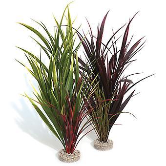 Sydeco naturlige planter farvede vilde græs gigant 44cm (pakke med 6)
