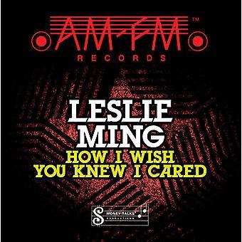 Leslie Ming - hoe ik wens u wist ik Cared [CD] USA importeren