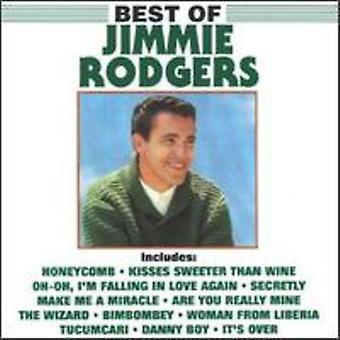 Jimmie F. Rodgers - importación de Estados Unidos mejor de Jimmie F. Rodgers [CD]