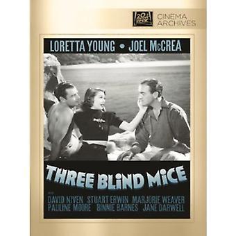 Three Blind Mice [DVD] USA import