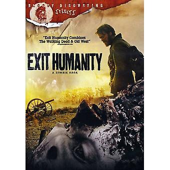 Exit menneskeheden [DVD] USA importerer