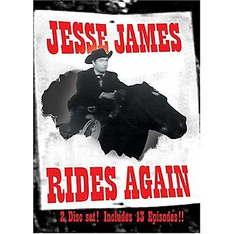 Jessie James Rider igen [DVD] USA importerer
