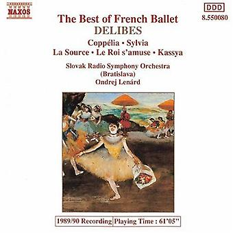 L. Delibes - The Best of French Ballet [CD] USA import