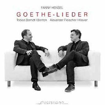 Berndt, Tobias / Fleischer - Goethe-Lieder [CD] USA import