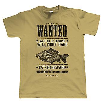 Wanted Poster, Mens Fishing T Shirt