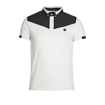 VOI JEANS Baker Polo Shirt White