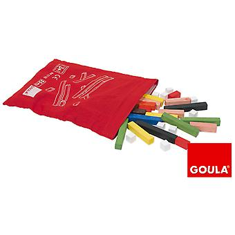 Goula Juego Regletas Madera Con Bolsa  (Toys , Educative And Creative , Mathematics)