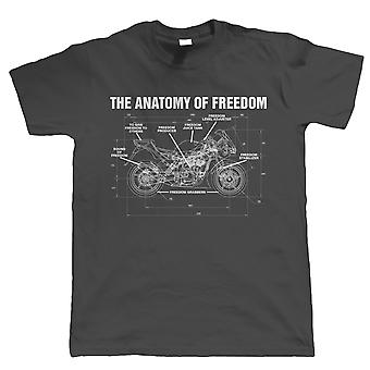 Vectorbomb, Anatomy Of Freedom Mens Funny T Shirt (S to 5XL)