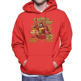 Kerosene Loops Turbo Man Jingle All The Way Cereal Men's Hooded Sweatshirt