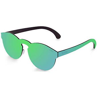 Ocean Long Beach Flat Lense Sunglasses - Green