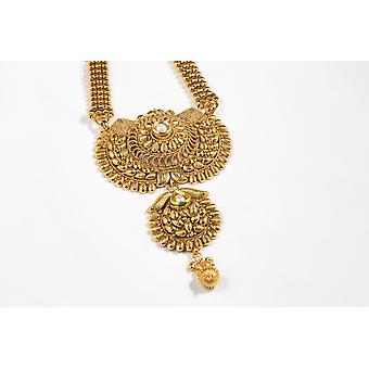 Indian Long Chain Necklace Set