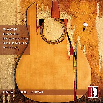 Bach, J.S. / romano / Scarlatti / Leona - romano de Bach Scarlatti Telemann Weiss [CD] USA import
