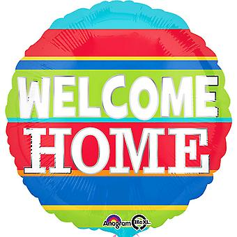 Anagram 18 Inch Welcome Home Circle Foil Balloon