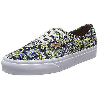 Vans Womens Authentic + Low Top Lace Up Fashion Sneaker