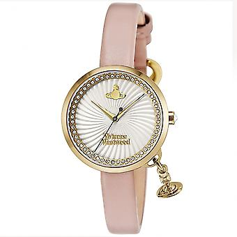 Vivienne Westwood Vv139whpk Bow Pink Leather Ladies Watch