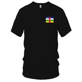 Zentralafrikanische Rep Land National Flagge - Stickerei Logo - 100 % Baumwolle T-Shirt Kinder T Shirt