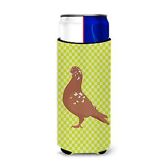 African Owl Pigeon Green Michelob Ultra Hugger for slim cans