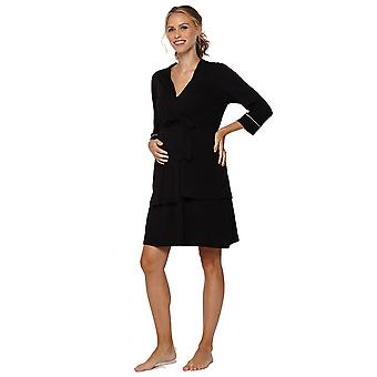 Belabumbum Lounge Chic Nursing Nightie & Robe 2-piece Set